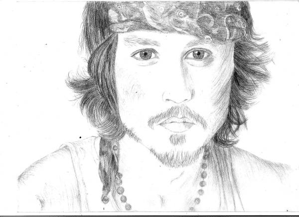 Johnny Depp by Annabella